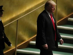 Вместо Трампа на трибуну ООН вышел Ленин