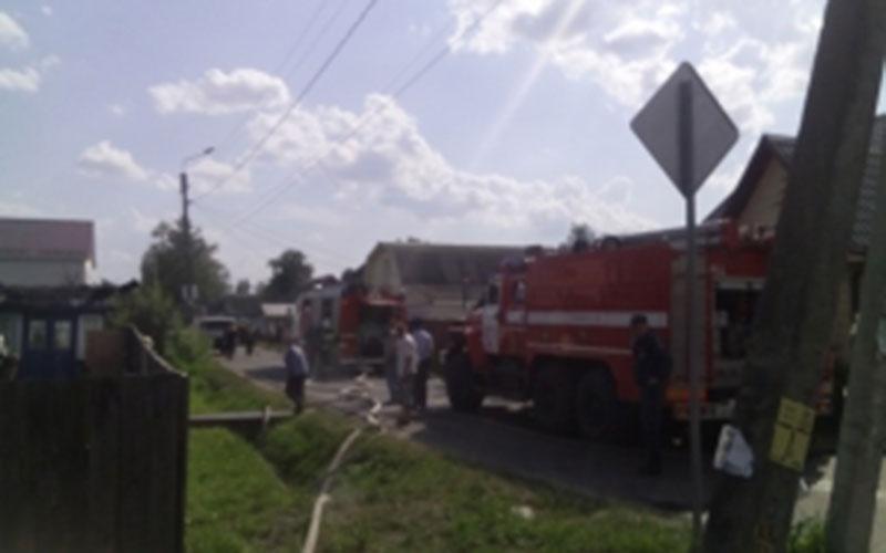 ВЖуковке при пожаре пострадала женщина