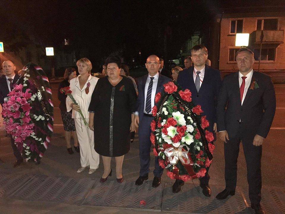 Карачев посетил замруководителя федерального казначейства РФ Александр Михайлик