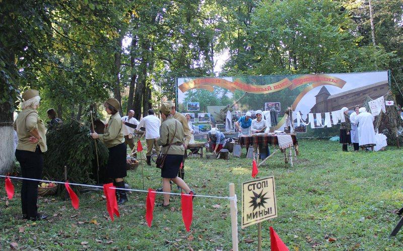 Почепский район отметил 75-летие освобождения от фашистов