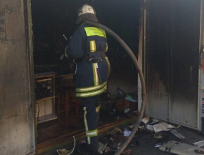 В Новозыбкове загорелась квартира