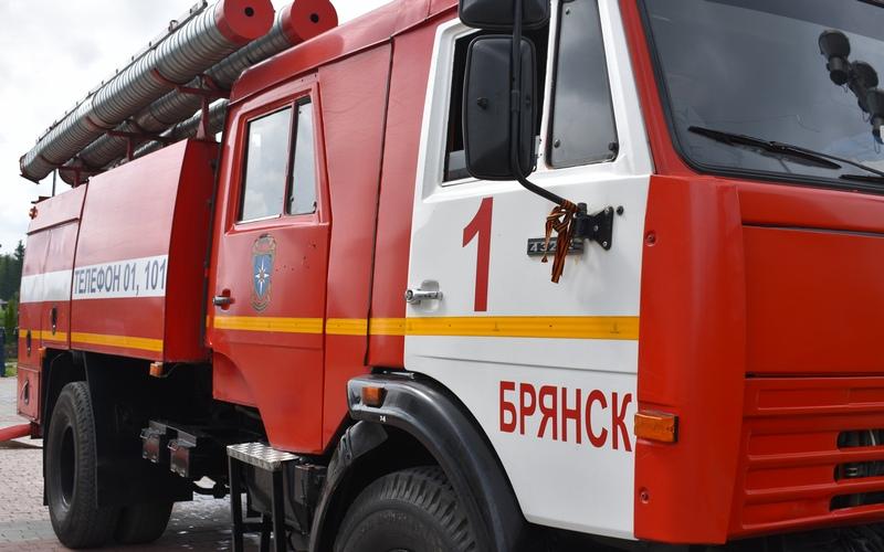 В Брянске при пожаре пострадал мужчина