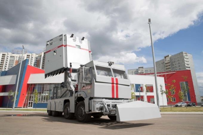 Концерн «Калашников» представил новое оборудование для защиты от «агрессивной» толпы