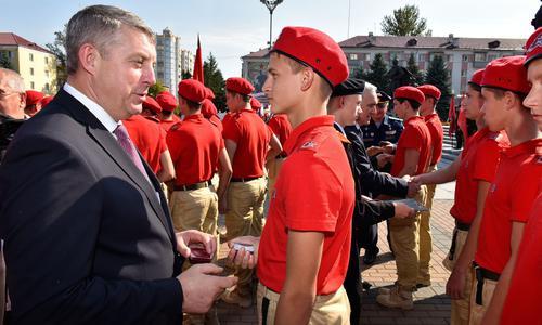 Брянские школьники пополнят ряды «Юнармии»