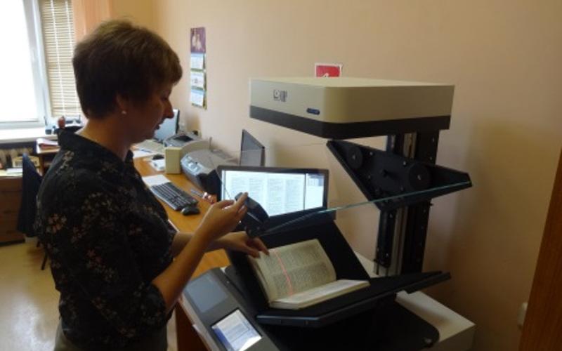 В Брянской областной библиотеке опробовали чудо-сканер