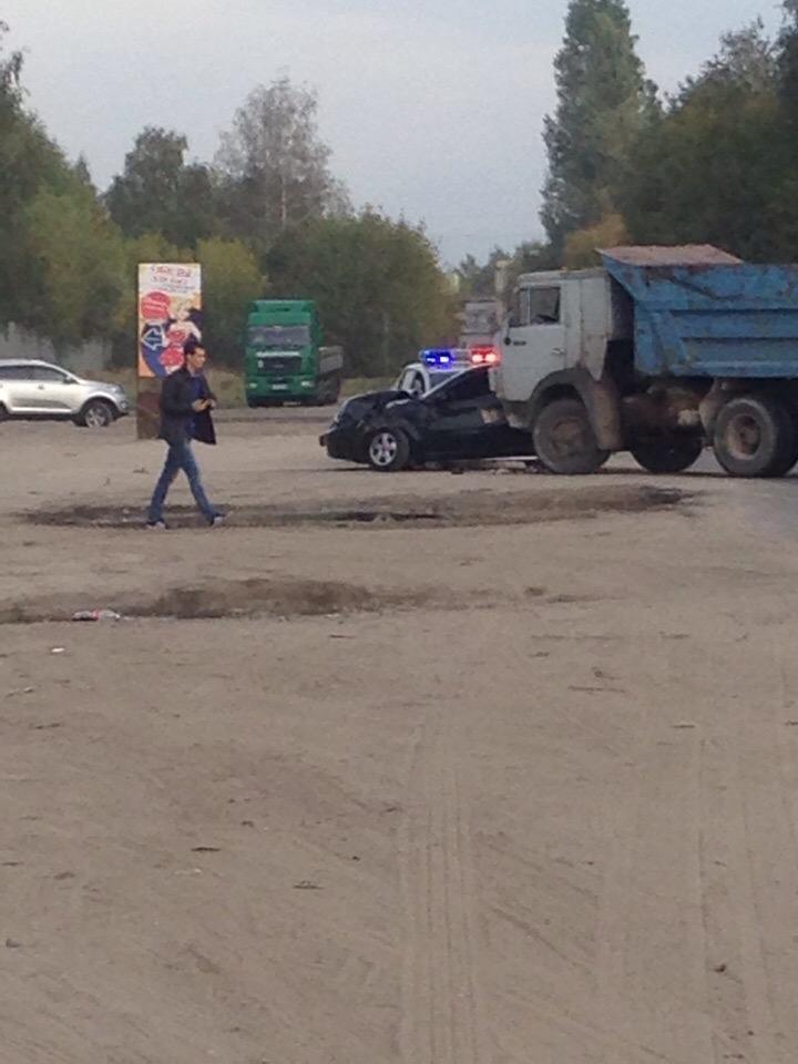 В поселке Октябрьском произошла серьезная авария