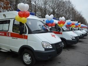 В Челябинскую область направлены 14 карет «скорой помощи»