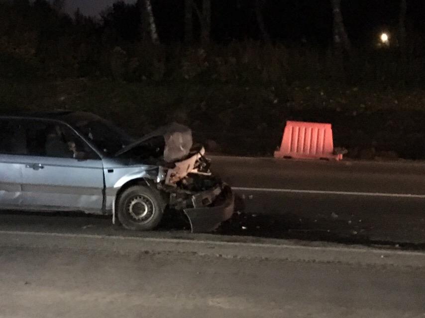 В ДТП под Брянском столкнулись две иномарки