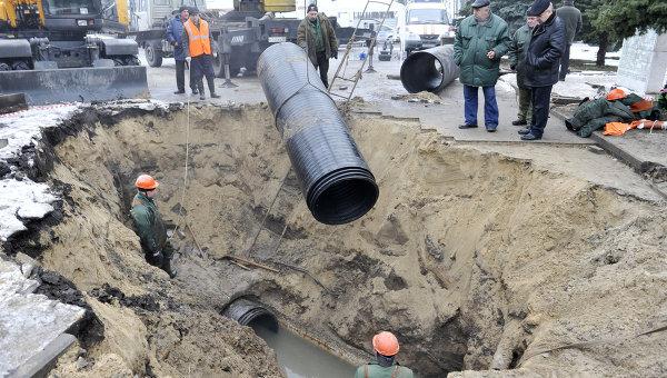 На ремонт брянских коллекторов потратят 450 миллионов рублей