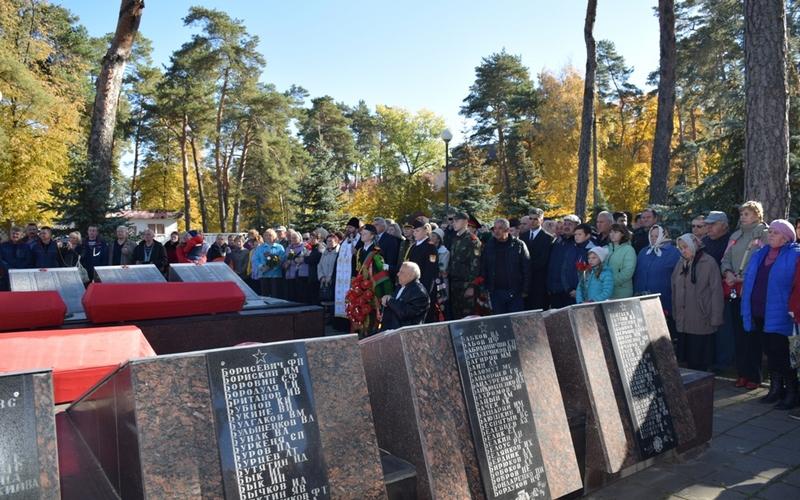 В Белоруссии предали земле останки брянских бойцов