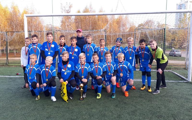 Юные брянские «партизаны» выиграли футбольный турнир в Беларуси