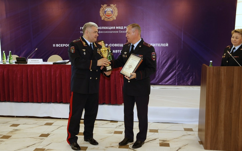 Начальник брянской Госавтоинспекции стал призером конкурса профмастерства