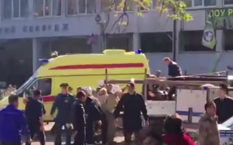 В Керчи в результате взрыва в колледже погибли десять человек