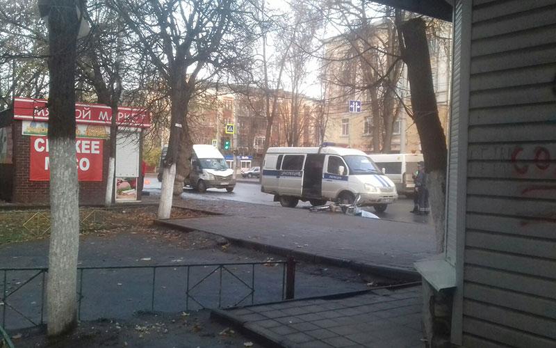 ВБрянске маршрутчик насмерть сбил велосипедиста