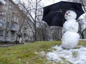 Зима по прогнозам в России не будет суровой