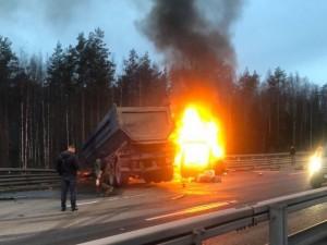 Семеро погибших в аварии с микроавтобусом и грузовиком в Санкт-Петербурге