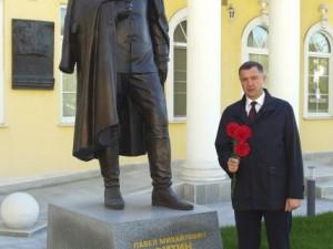 В центре Москвы можно встретить памятник разведчику