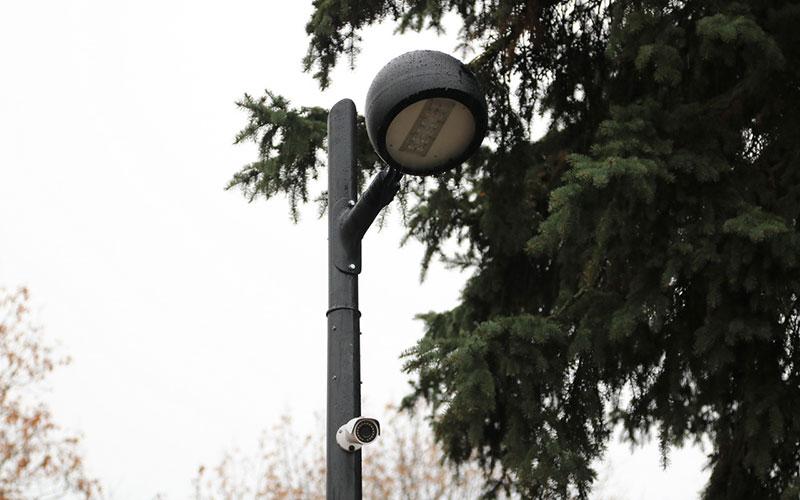 ВБрянске всквере Ленина установили видеокамеры