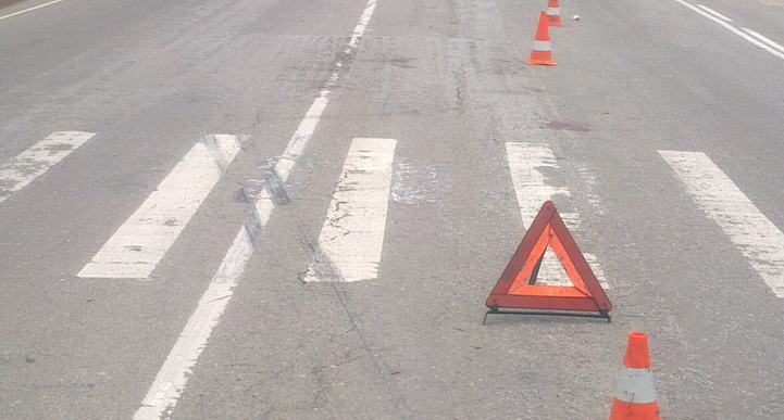На пешеходном переходе в Новозыбкове сбили женщину с ребенком