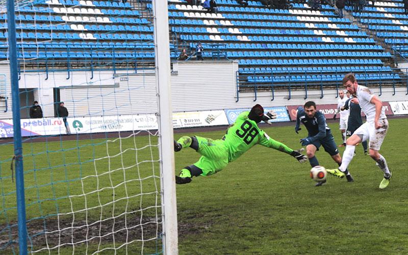 Брянское «Динамо» обыграло футболистов изКалуги