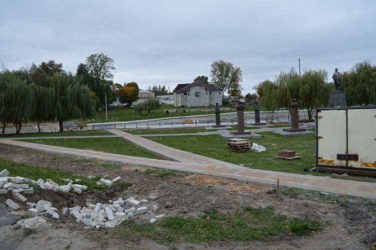 В Новозыбкове отремонтировали шесть дворов