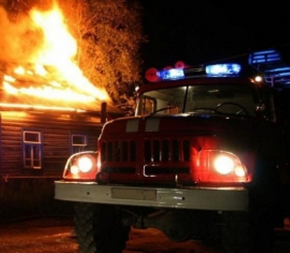 В Мглинском районе сгорел жилой дом