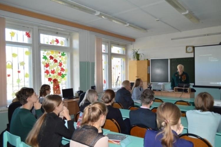 Брянским старшеклассникам рассказали о службе в УФСИН
