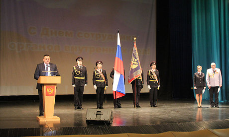 В Брянске прошел праздничный концерт, посвященный Дню сотрудника органов внутренних дел