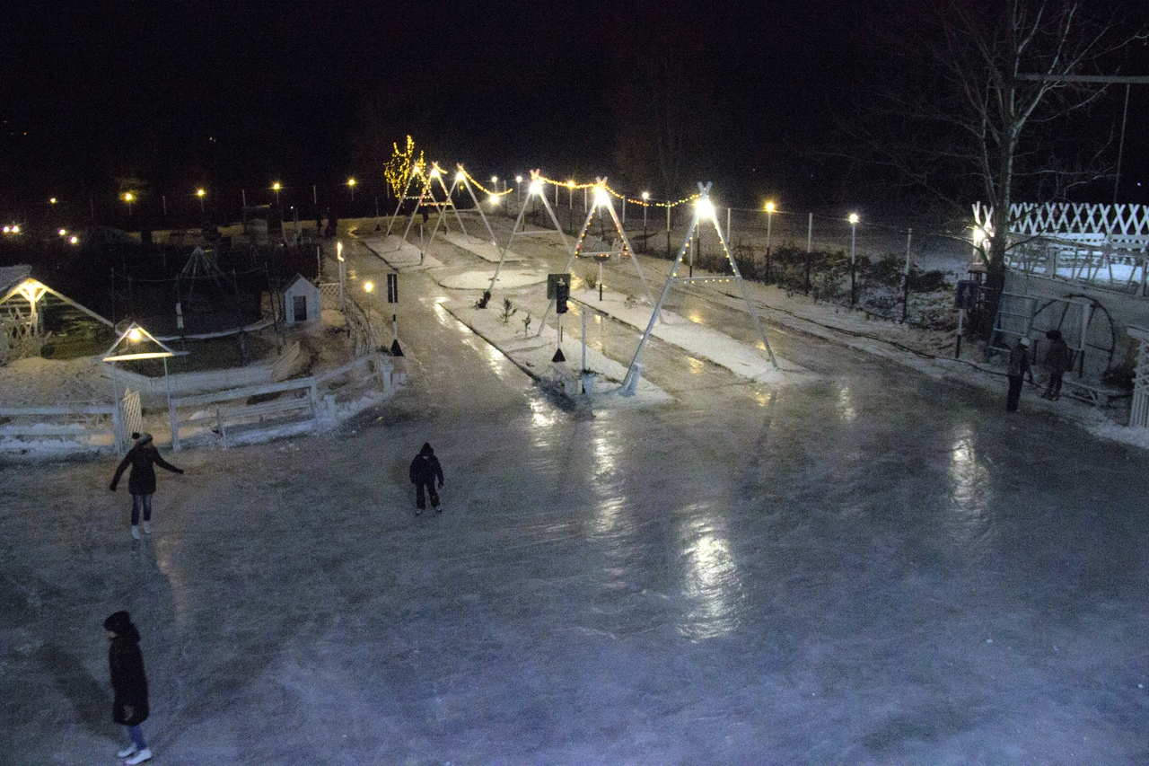1 декабря в Брянске откроют самый большой ледовый парк