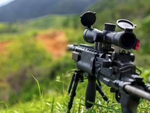 Россиянок не приняли в снайперы