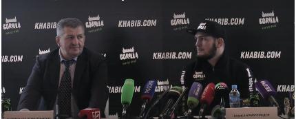 Хабиб заговорил!: Прошла первая пресс-конференция бойца
