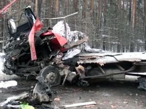 Задержан водитель фуры, ставшей причиной гибели 5 человек
