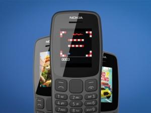 Новая кнопочная Nokia 106 готова работать без зарядки три недели