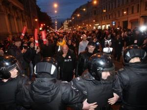 Санкт-Петербург назвали самым протестным городом России