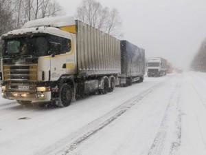На автодороге М-5 снова разрешили проезд автобусов и грузовиков