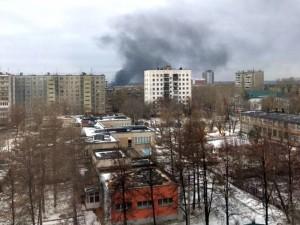 В Челябинске горит закрытая свалка