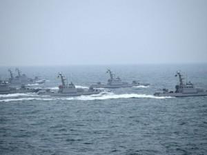Военные корабли Украины нарушили российскую границу