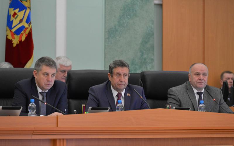 Профицитный бюджет на 2019 год внесли в Брянскую областную Думу