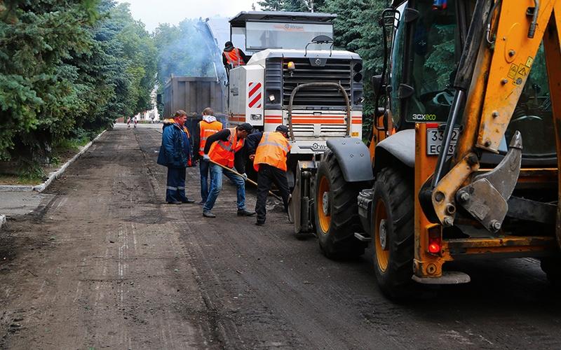 Улица Дзержинского в Брянске дождалась ремонта