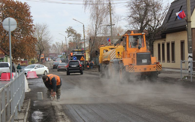 Улицы Смоленская и Затинская в Почепе дождались ремонта