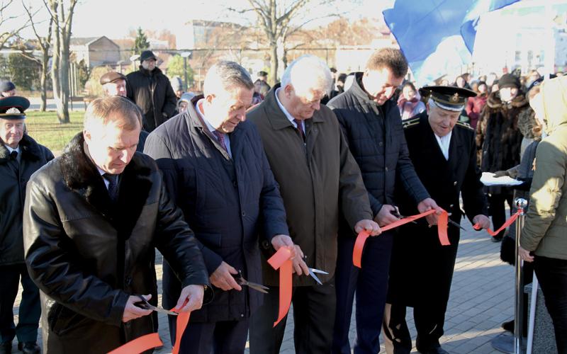 В Брянске открыли обновленный сквер Дружбы