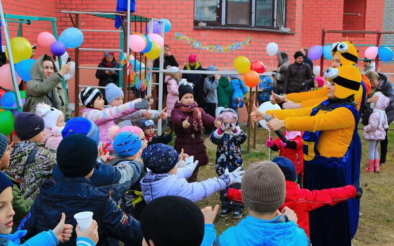 В Советском районе Брянска прошел очередной праздник двора