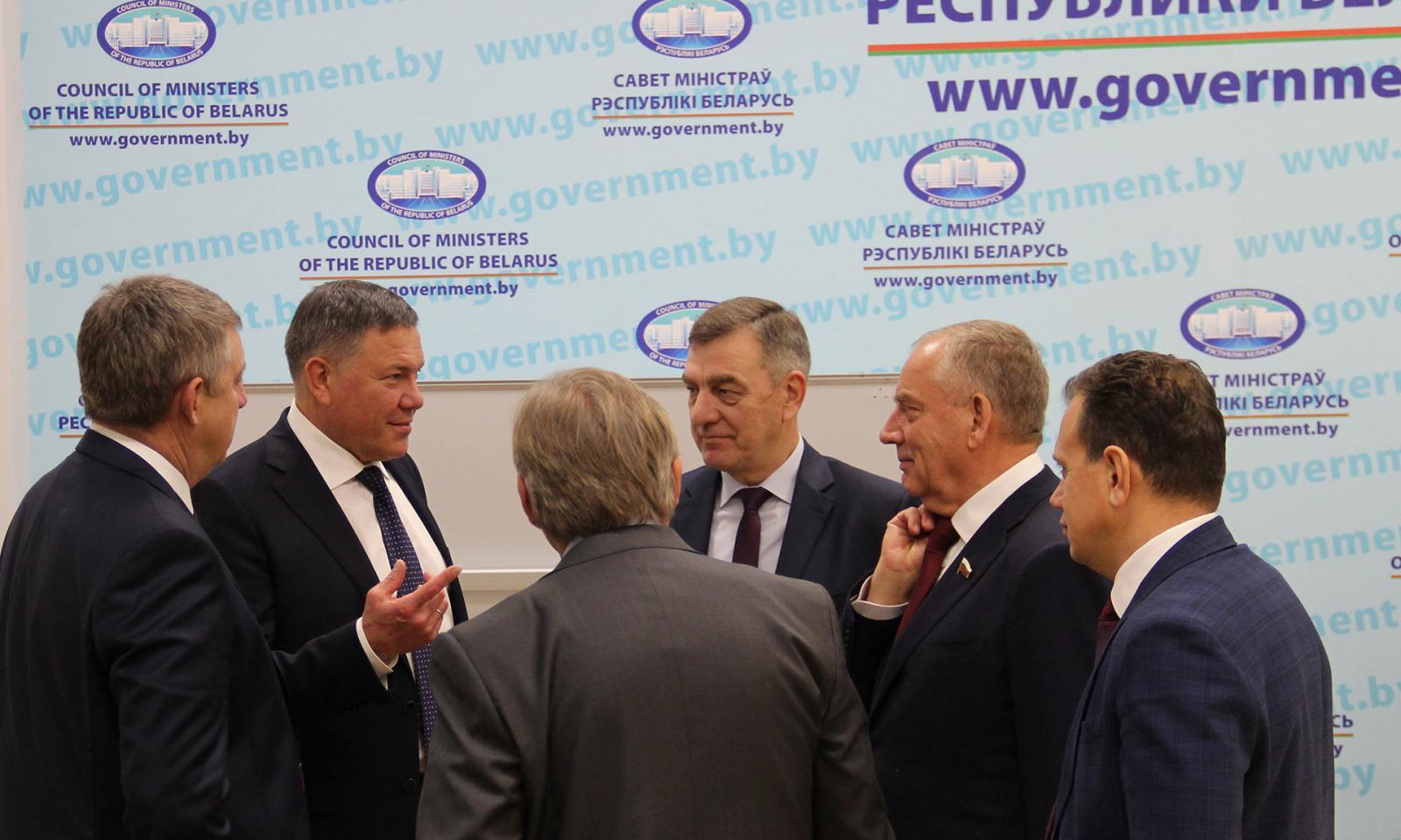 Спикер верхней палаты парламента Беларуси подивился успехам Брянской области