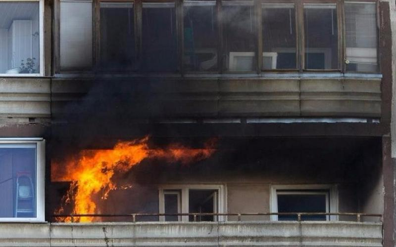 В доме по улице III Интернационала случился пожар