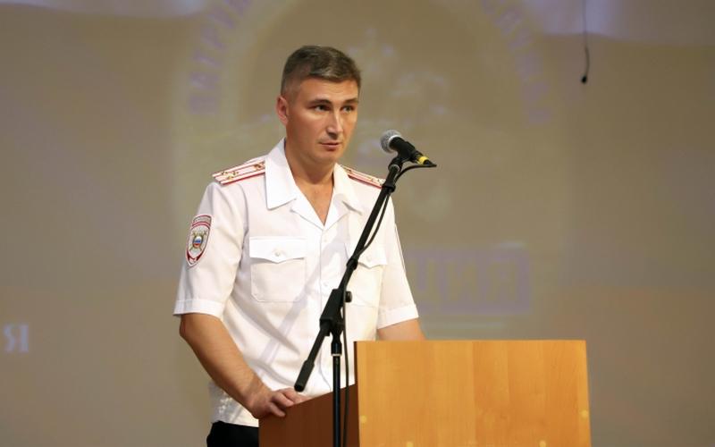 Брянским полицейским представили нового начальника