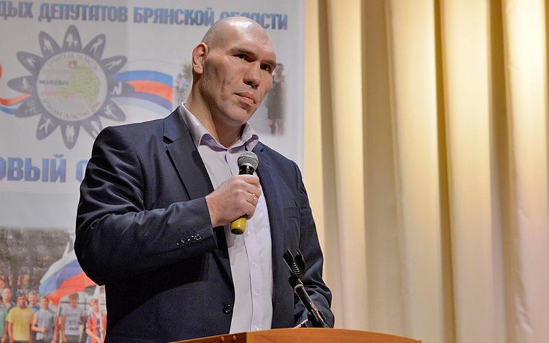 Николай Валуев дал совет грустному бизнесмену
