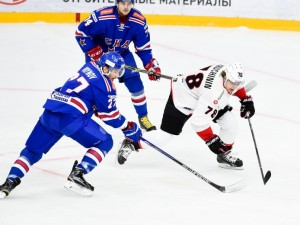 «Трактор» в последнем матче выездной серии уступил СКА со счетом 0:1