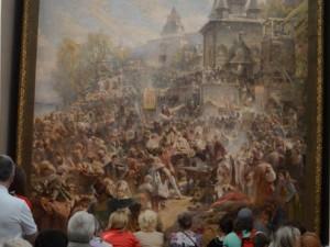Минин увековечен на одной из самых больших в России жанровых картин