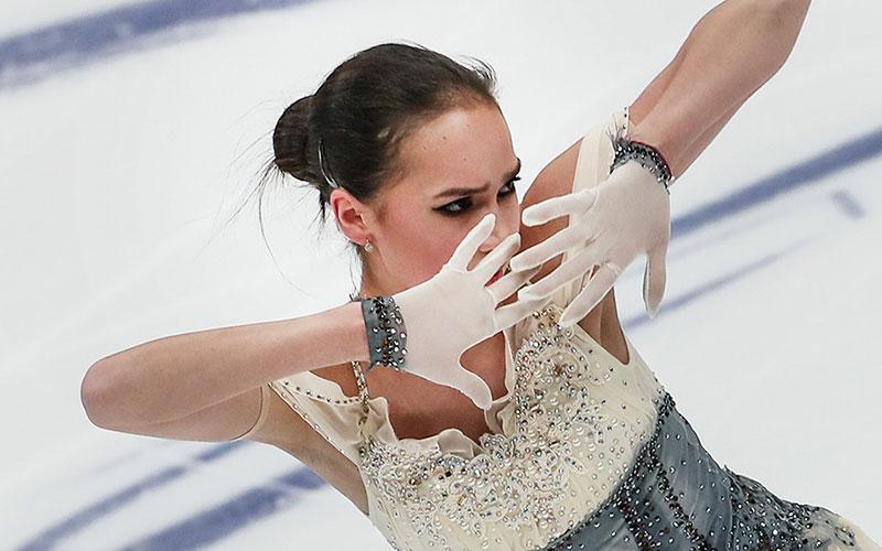 Фигуристка Загитова установила новый мировой рекорд