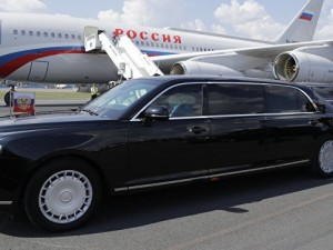 Лимузин Путина в Аргентине назвали «бункером на колесах»